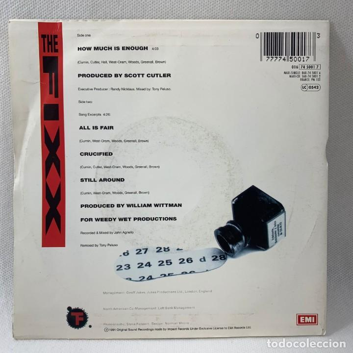 Discos de vinilo: SINGLE THE FIXX - HOW MUCH IS ENOUGH - EUROPA - AÑO 1991 - Foto 4 - 234903430