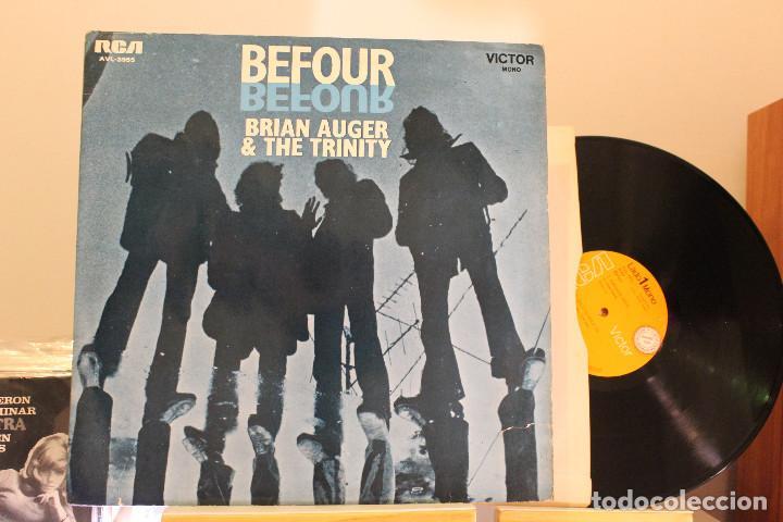 DISCO LP - BRIAN AUGER & THE TRINITY - PROMOCIONAL - VINILO ARGENTINO - EXC (Música - Discos - LP Vinilo - Pop - Rock - Extranjero de los 70)