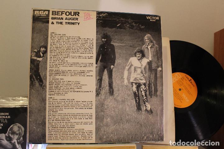 Discos de vinilo: DISCO LP - BRIAN AUGER & THE TRINITY - PROMOCIONAL - VINILO ARGENTINO - EXC - Foto 2 - 234903495