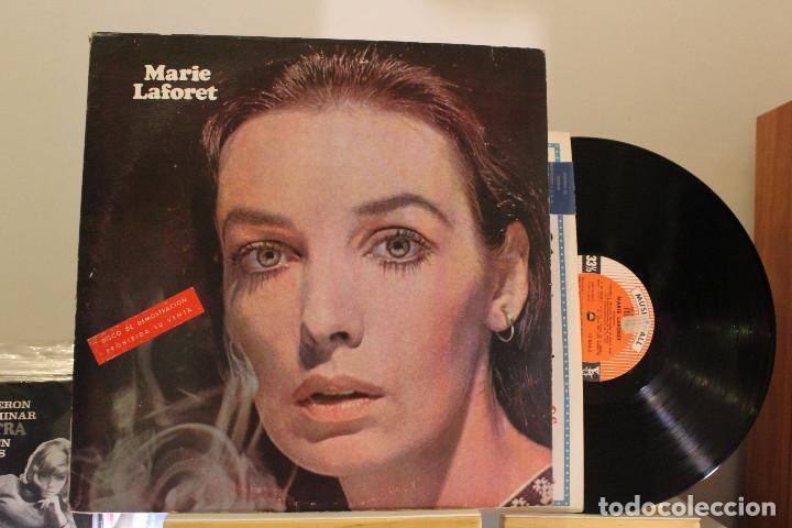 DISCO LP - MARIE LAFORET - PROMOCIONAL - VINILO ARGENTINO - EXC (Música - Discos - LP Vinilo - Canción Francesa e Italiana)