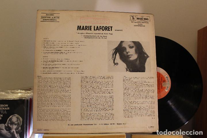 Discos de vinilo: DISCO LP - MARIE LAFORET - PROMOCIONAL - VINILO ARGENTINO - EXC - Foto 2 - 234904335