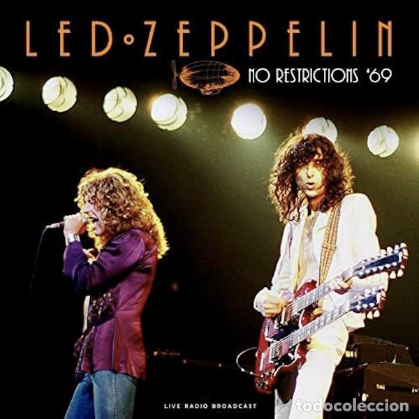 LED ZEPPELIN NO RESTRICTIONS '69 (LP) . VINILO DIRECTO BLUES ROCK AND ROLL HARD (Música - Discos - LP Vinilo - Pop - Rock Extranjero de los 50 y 60)