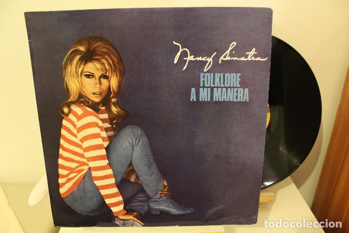 DISCO LP - NANCY SINATRA - FOLKLORE A MI MANERA - 1968 - VINILO ARGENTINO - EXC (Música - Discos - LP Vinilo - Pop - Rock Extranjero de los 50 y 60)