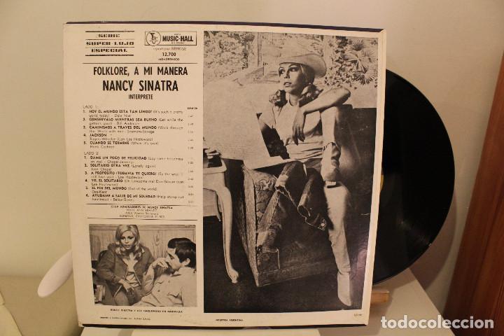 Discos de vinilo: DISCO LP - NANCY SINATRA - FOLKLORE A MI MANERA - 1968 - VINILO ARGENTINO - EXC - Foto 2 - 234906875