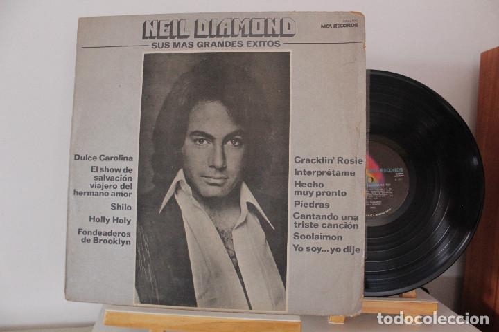 DISCO LP - NEIL DIAMOND - SUS MAS GRANDES EXITOS - 1977 - VINILO ARGENTINO - EXC (Música - Discos - LP Vinilo - Pop - Rock Extranjero de los 50 y 60)