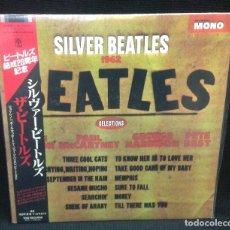 Discos de vinilo: THE BEATLES, SILVER BEATLES 1962, MONO, EDICIÓN JAPONESA, MUY RARO. Lote 234909835