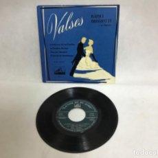 Discos de vinilo: VALSES, RAPHA BROGIATTI, DISCOS. Lote 234910555