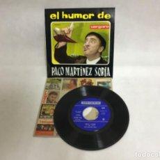 Discos de vinilo: PACO MARTÍNEZ SORIA, DISCO. Lote 234912500