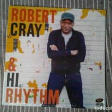 Discos de vinilo: ROBERT CRAY & HI RHYTHM LP JAY-VEE 2017 ED. EUROPEA 20286 22365 COMO NUEVO.. Lote 234918460