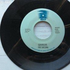 Discos de vinilo: THE ORLONS – CROSSFIRE / BON DO WAH SINGLE REED USA EX. Lote 234920340