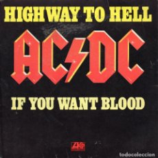 Discos de vinilo: AC / DC - HIGHWAY TO HELL - SINGLE. Lote 234922455