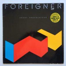 Discos de vinilo: FOREIGNER – AGENT PROVOCATEUR GERMANY,1984 ATLANTIC. Lote 234923245