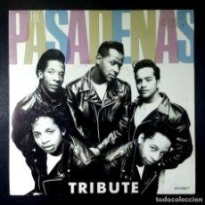 Discos de vinilo: THE PASADENAS -TRIBUTE (RIGHT ON) / I BELIEVE - SINGLE 1988 - CBS. Lote 234927665
