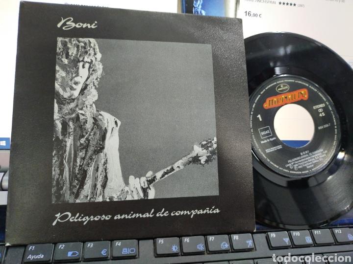 BONI SINGLE PROMOCIONAL PELIGROSO ANIMAL DE COMPAÑÍA 1992 (Música - Discos - Singles Vinilo - Solistas Españoles de los 70 a la actualidad)