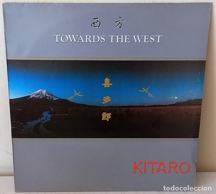KITARO - TOWARDS THE WEST POLYDOR - 1987 (Música - Discos - LP Vinilo - Electrónica, Avantgarde y Experimental)