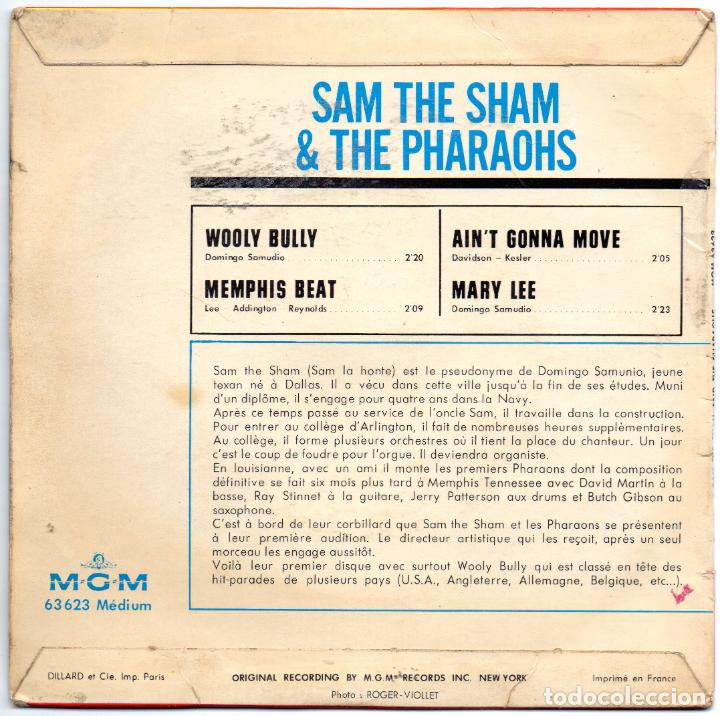 Discos de vinilo: SAM THE SHAM AND THE PHARAOHS - WOOLY BULLY + 3 EP.S - IMPORTACION - Foto 2 - 234930560