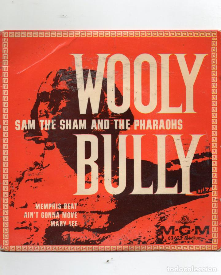 Discos de vinilo: SAM THE SHAM AND THE PHARAOHS - WOOLY BULLY + 3 EP.S - IMPORTACION - Foto 1 - 234930560