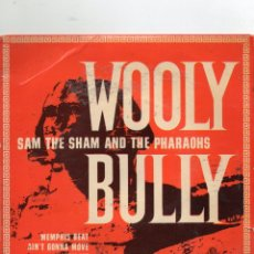 Discos de vinilo: SAM THE SHAM AND THE PHARAOHS - WOOLY BULLY + 3 EP.S - IMPORTACION. Lote 234930560