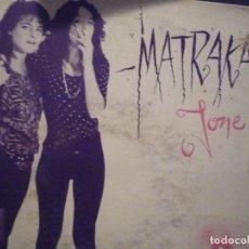 Discos de vinilo: MATRAKA-JONE-SG. Lote 234931185