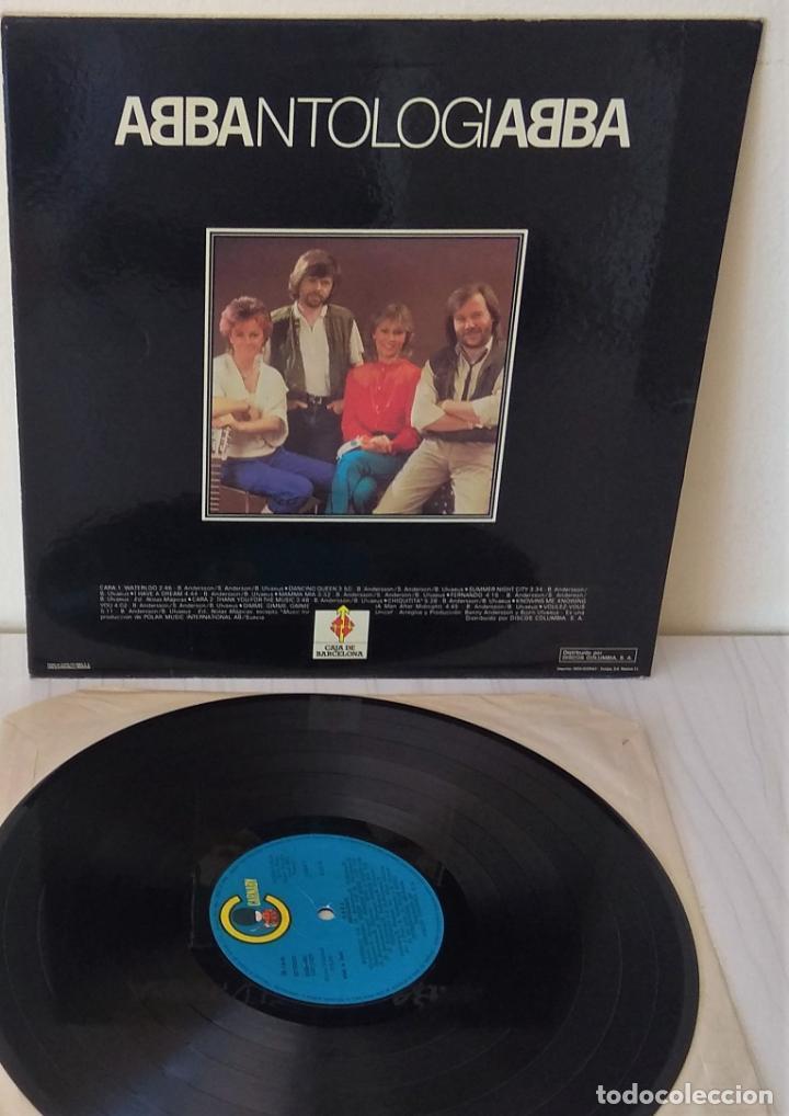 Discos de vinilo: ABBA - ANTOLOGIA CARNABY - 1982 - Foto 2 - 234931860