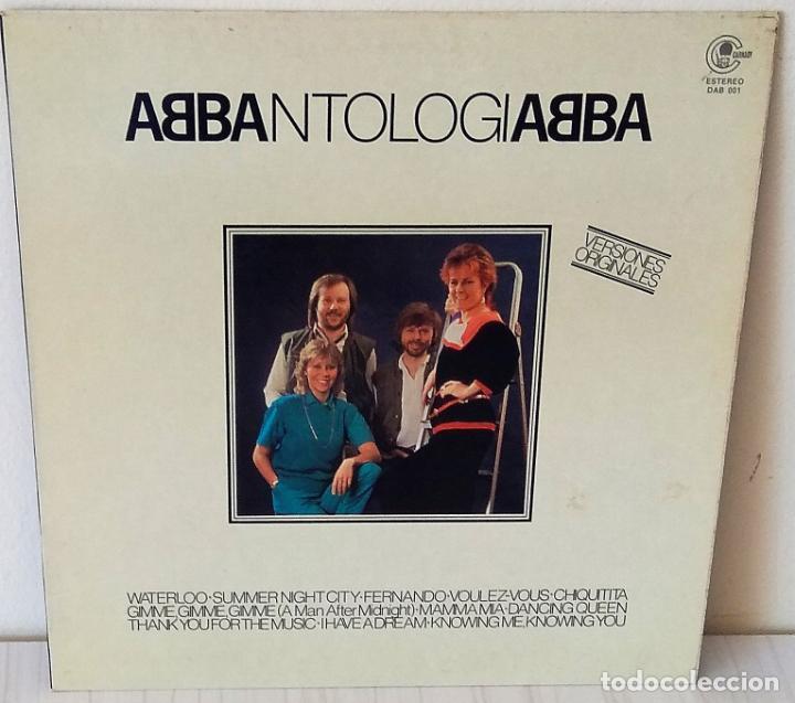 ABBA - ANTOLOGIA CARNABY - 1982 (Música - Discos - LP Vinilo - Pop - Rock - New Wave Extranjero de los 80)