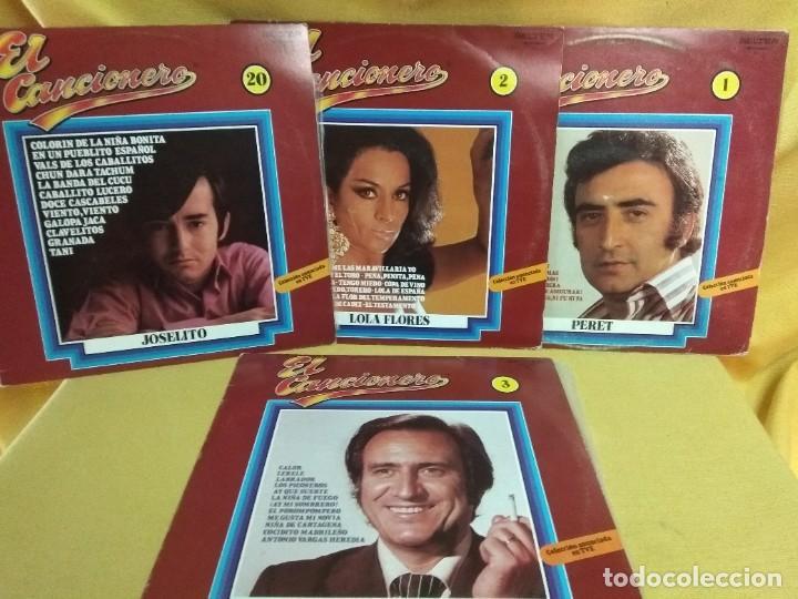 LOTE 5 LP JOSELITO-LOLA FLORES-PERET-ESCOBAR-REINA (Música - Discos - LP Vinilo - Flamenco, Canción española y Cuplé)