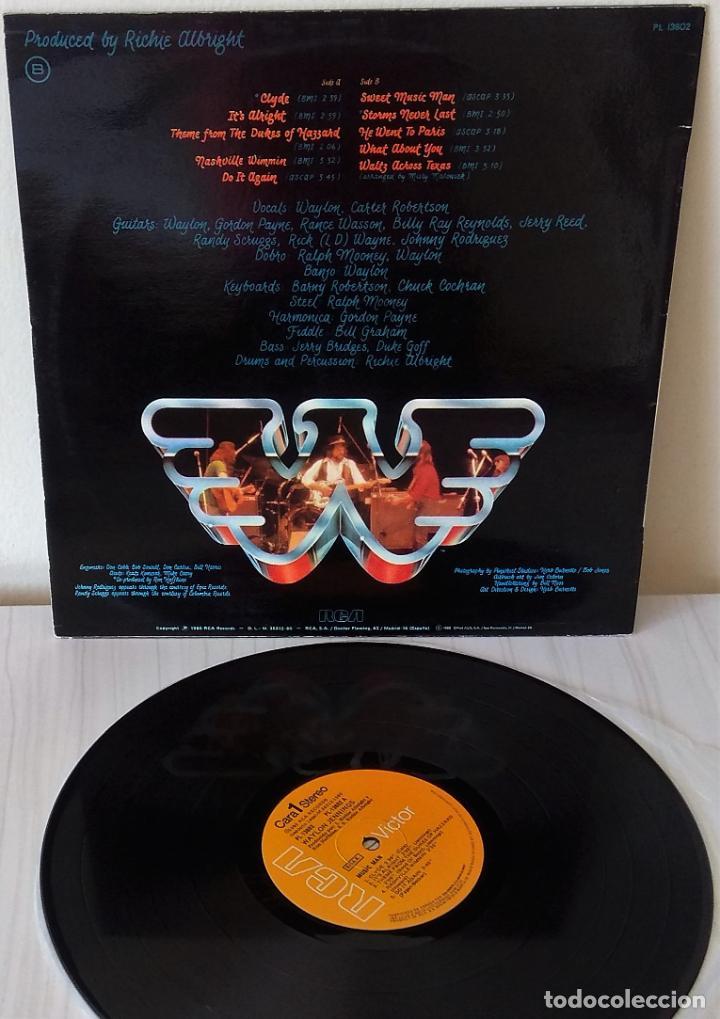 Discos de vinilo: WAYLON - MUSIC MAN R C A - 1980 - Foto 2 - 234936565