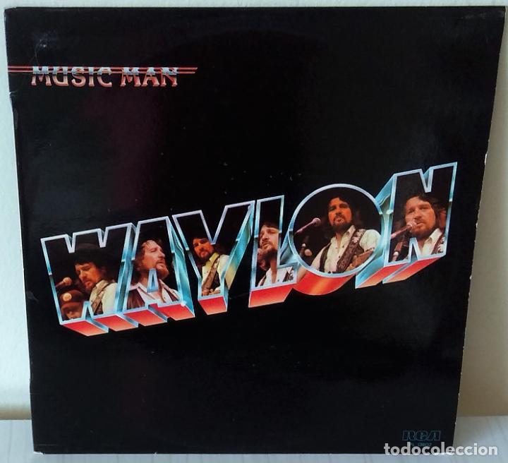 WAYLON - MUSIC MAN R C A - 1980 (Música - Discos - LP Vinilo - Country y Folk)