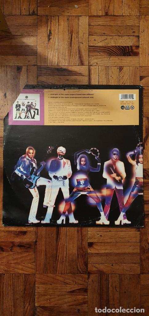 "Discos de vinilo: The Brand New Heavies – Midnight At The Oasis Label: London Records – 857 697-1 Format: Vinyl, 12"" - Foto 2 - 234936575"
