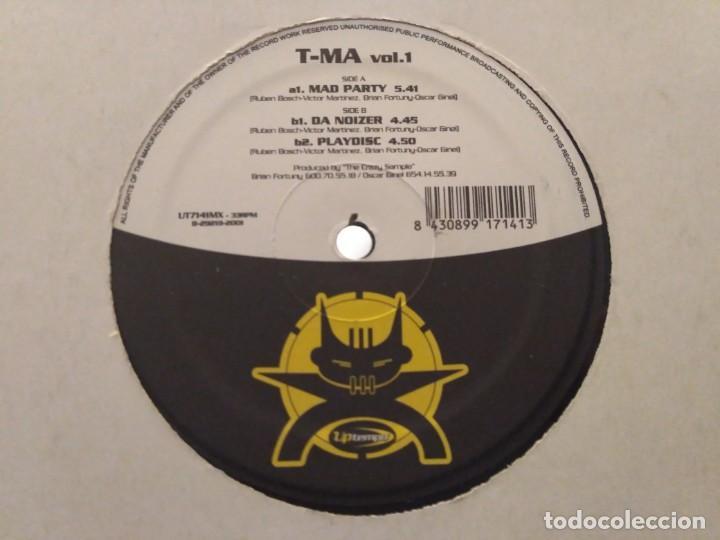 T-MA VOL.1 (Música - Discos de Vinilo - Maxi Singles - Techno, Trance y House)
