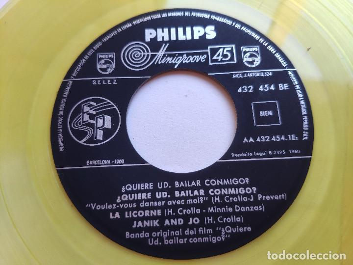 Discos de vinilo: BRIGITTE BARDOT - EP Spain PS - MINT * OST QUIERE VD. BAILAR CONMIGO - Foto 3 - 234942965