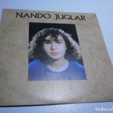 Discos de vinilo: SINGLE NANDO JUGLAR. ELENA. ME ESTOY ACOSTUMBRANDO A TI. KRAKEN 1986 SPAIN (PROBADO, BIEN, SEMINUEVO. Lote 234945075