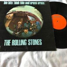 Discos de vinilo: THE ROLLING STONES - BIG HITS (HIGH TIDE & GREEN GRASS) - DECCA TXL 101. Lote 234955420