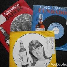 Discos de vinilo: CANTA HISPANO-AMERCIA (LOTE 3 EPS 1966 FUNDADOR) LOS AGAPULCOS, INDIOS TABAJARAS, ENRIQUE RIVAS. Lote 234963710