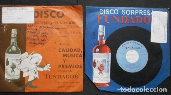CANCIONES CUBANAS (LOTE 2 EPS 1966 FUNDADOR) CUARTETO TROPICAL - AMOR Y CELOS, LA MALCRIADA, HASTA 8 (Música - Discos de Vinilo - EPs - Grupos y Solistas de latinoamérica)