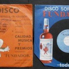 Discos de vinilo: CANCIONES CUBANAS (LOTE 2 EPS 1966 FUNDADOR) CUARTETO TROPICAL - AMOR Y CELOS, LA MALCRIADA, HASTA 8. Lote 234985295