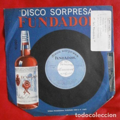 CANCION MEXICANA (EPS 1964 FUNDADOR) CONJUNTO LOS MARIACHIS - YO NO ME CASO, MEXICO LINDO, DEVOCION (Música - Discos de Vinilo - EPs - Grupos y Solistas de latinoamérica)