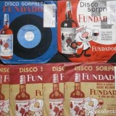 Discos de vinilo: MUSICA CLASICA (LOTE 6 EPS 1962-66 FUNDADOR) ORQUESTA SINFONICA - CHOPIN, STRAUSS, ALBENIZ, BRAHAMS,. Lote 234987975