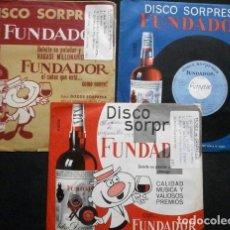 Discos de vinilo: MUSICA DE ACORDEON Y ORGANILLO (LOTE 3 EPS 1964-66 FUNDADOR) SUSPIROS DE ESPAÑA, AL URUGUAY, POLKA,. Lote 234989945