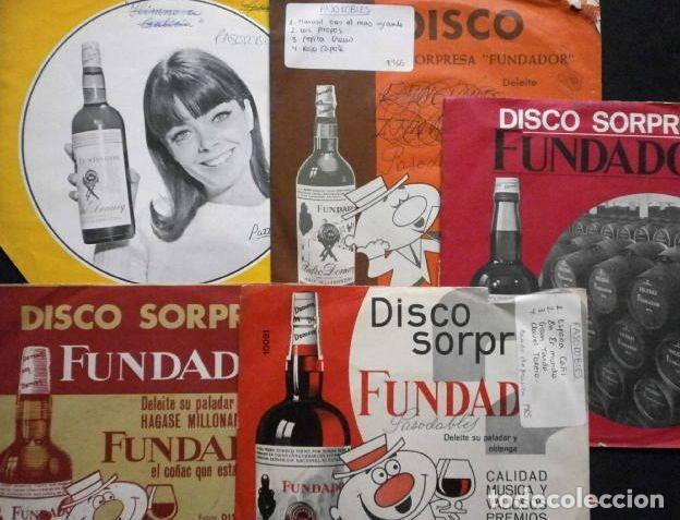 20 PASODOBLES (LOTE 5 EPS 1964-67 FUNDADOR) ISLAS CANARIAS, MI JACA, MANOLETE, ESPAÑA CAÑI, DAUDER.. (Música - Discos de Vinilo - EPs - Flamenco, Canción española y Cuplé)