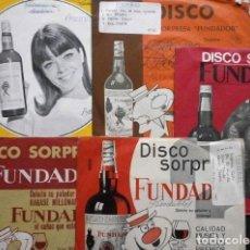 Discos de vinilo: 20 PASODOBLES (LOTE 5 EPS 1964-67 FUNDADOR) ISLAS CANARIAS, MI JACA, MANOLETE, ESPAÑA CAÑI, DAUDER... Lote 234990845