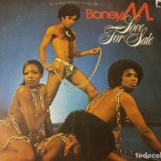 Discos de vinilo: BONEY M CON SU MÍTICO ÁLBUM LOVE FOR SALE DE LOS AÑOS 70. DISCO DE VINILO. Lote 234991915