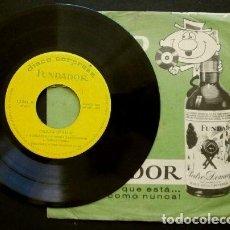 Discos de vinilo: EXITOS AMERICANOS (EP. 1963 FUNDADOR) TONY SANDERS - JOE DEAN - PAT CURTIS - MAY SMITH. Lote 234994805