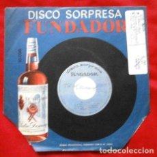 Discos de vinilo: VILLANCICOS (EP. 1966 FUNDADOR) LOS SAIX - COROS - NOCHE DE PAZ, JINGLE BELLS, TAN TAN - NAVIDAD. Lote 234996500
