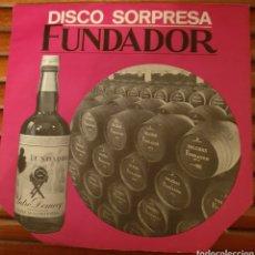 Discos de vinilo: DISCO SORPRESA FUNDADOR Nº 10.15O. Lote 234997675