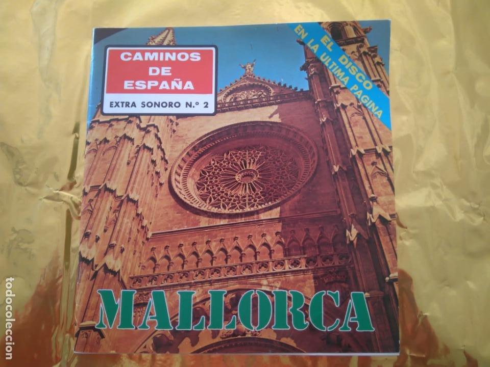 Discos de vinilo: CAMINOS DE ESPAÑA - VOL 1 Y VOL 2 (BILBAO Y MALLORCA) LIBROS TURÍSTICOS CON FLEXI DISC TEMAS FOLK - Foto 6 - 235018315
