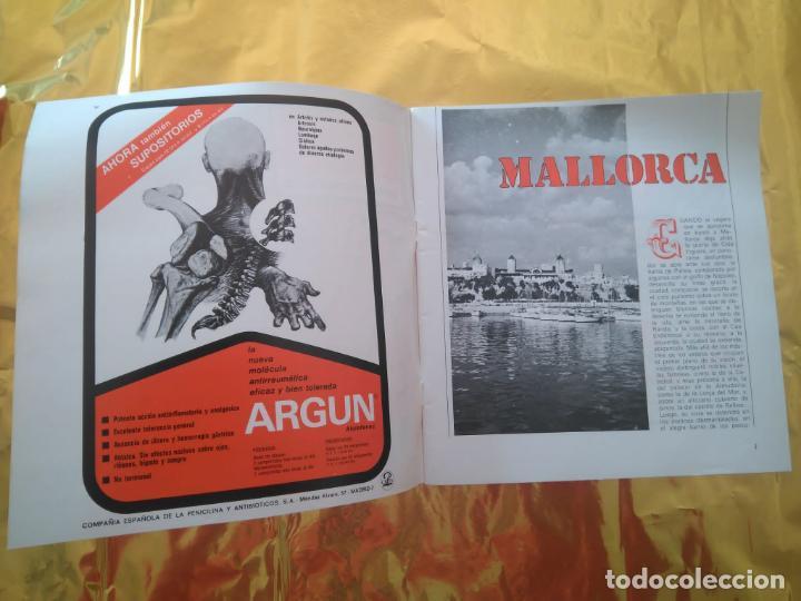 Discos de vinilo: CAMINOS DE ESPAÑA - VOL 1 Y VOL 2 (BILBAO Y MALLORCA) LIBROS TURÍSTICOS CON FLEXI DISC TEMAS FOLK - Foto 7 - 235018315