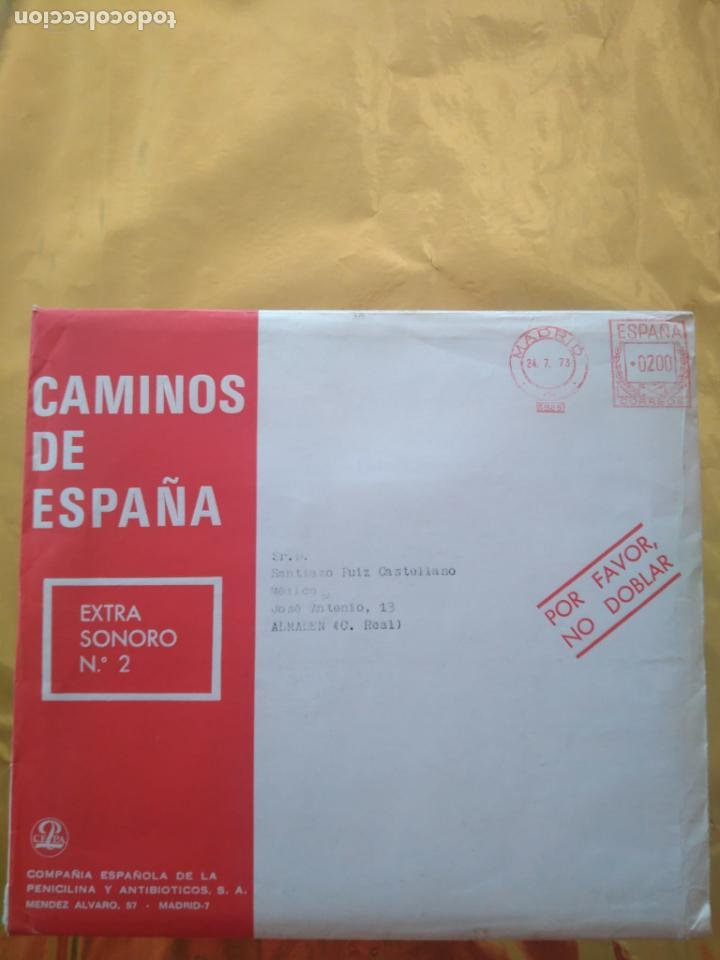 Discos de vinilo: CAMINOS DE ESPAÑA - VOL 1 Y VOL 2 (BILBAO Y MALLORCA) LIBROS TURÍSTICOS CON FLEXI DISC TEMAS FOLK - Foto 10 - 235018315