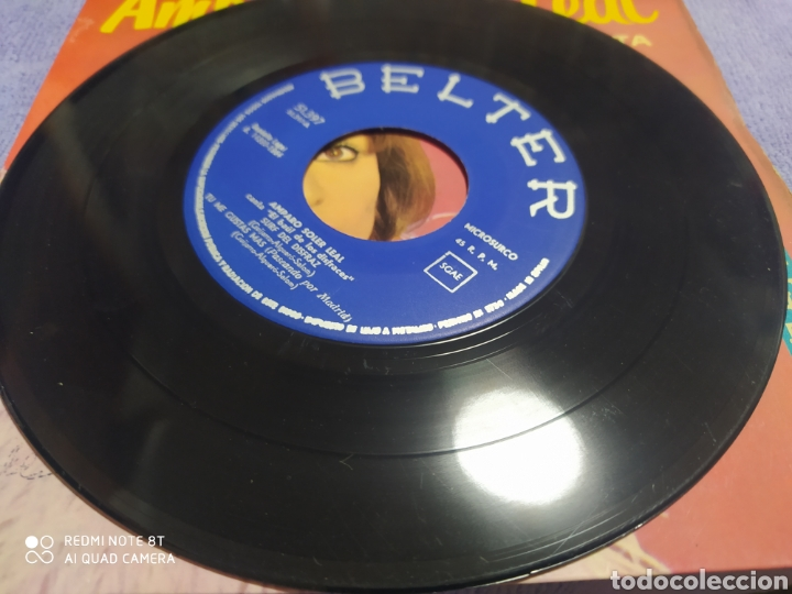Discos de vinilo: Amparo Soler Leal. El baúl de los disfraces. Ep Belter 1964 - Foto 2 - 235019855