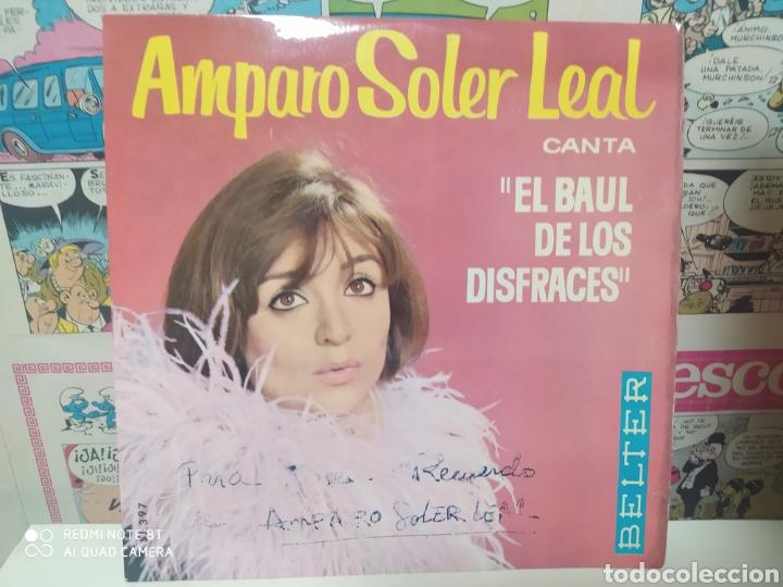 AMPARO SOLER LEAL. EL BAÚL DE LOS DISFRACES. EP BELTER 1964 (Música - Discos de Vinilo - EPs - Grupos Españoles 50 y 60)